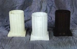 Round Fluted Aluminum Columns
