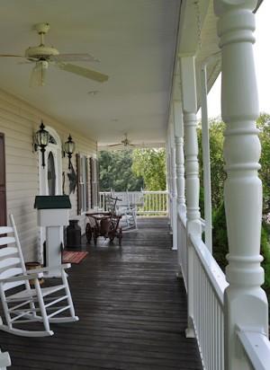 Sarasota II Vinyl Porch Railing