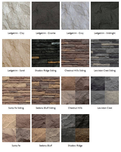 Composite stone wholesale vinyl and aluminum Vinyl siding that looks like stone