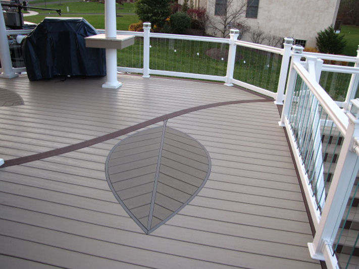 Decking wholesale vinyl and aluminum for Vinyl decking material