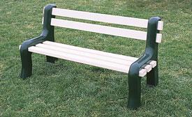 Vinyl Park Benches